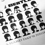 Worn By (ウォーンバイ) A Hard Day's Night The Beatles ザ・ビートルズ ハード・デイ・ナイト 復刻オフィシャルライセンスTシャツ ロックTシャツ バンドTシャツ WHITE (ホワイト) 2017 春夏新作のイメージ
