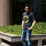 【Worn By / ウォーンバイ】 CLASSIC LOGO Guns N' Roses クラシックロゴ ガンズ・アンド・ローゼズ 復刻オフィシャルライセンスTシャツ ロックTシャツ バンドTシャツ BLACK STONE WASH (ブラックストーンウォッシュ) 2017 春夏新作のイメージ