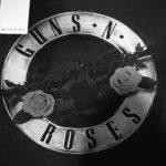 Worn By (ウォーンバイ) CLASSIC LOGO Guns N' Roses クラシックロゴ ガンズ・アンド・ローゼズ 復刻オフィシャルライセンスTシャツ ロックTシャツ バンドTシャツ BLACK STONE WASH (ブラックストーンウォッシュ) 2017 春夏新作のイメージ
