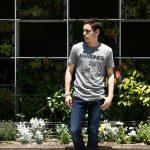 【Worn By / ウォーンバイ】 GABBA GABBA HEY RAMONES ガバガバヘイ ラモーンズ 復刻オフィシャルライセンスTシャツ ロックTシャツ バンドTシャツ FLINT GREY (フリントグレー) 2017 春夏新作のイメージ