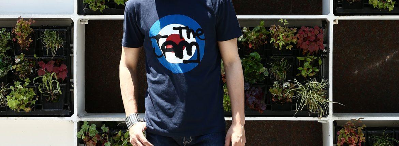 【Worn By / ウォーンバイ】 TARGET LOGO The Jam ターゲットロゴ ザ・ジャム  復刻オフィシャルライセンスTシャツ ロックTシャツ  バンドTシャツ NAVY (ネイビー) 2017 春夏新作のイメージ