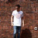 WORN FREE (ウォーンフリー) SOUNDS MAGAZINE Nirvana ニルヴァーナ Kurt Cobain カート・コバーン 1990 LONDON 復刻オフィシャルライセンスTシャツ ロックTシャツ バンドTシャツ WHITE (ホワイト) MADE IN USA (アメリカ製) 2017 春夏新作のイメージ