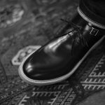 Cuervo (クエルボ) 【2017 AW NEW MODEL】 【Derringer / デリンジャー】 Annonay Vocalou Calf Leather Goodyear Welt Process Double Leather Sole  BLACK MADE IN JAPAN【3rd sample】のイメージ