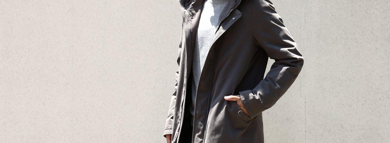 HERNO(ヘルノ) PI0404U SUB-ZERO M51 Mods coat (サブゼロ M51 モッズコート) ファー付き ダウン モッズコート GRAY (グレー・8600) 2017 秋冬のイメージ
