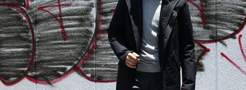 HERNO(ヘルノ) PI065UL LAMINAR M51 Mods coat ラミナー M51 モッズコート GORE-TEX ゴアテックス 完全防水 ダウンジャケット モッズコート BLACK (ブラック・9300) Made in italy (イタリア製) 2017 秋冬のイメージ