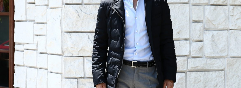 HERNO(ヘルノ) PI006UL LAMINAR Down Jacket ラミナー ダウンジャケット GORE-TEX ゴアテックス GORE WINDSTOPPER ゴアウィンドストッパー ダウンジャケット BLACK (ブラック・9300) Made in italy (イタリア製) 2017 秋冬のイメージ