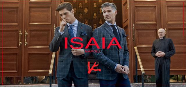 ISAIA / イザイアのブランド画像