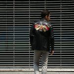 South Paradiso Leather(サウスパラディソレザー) East West(イーストウエスト) 【ILLUMINATI RAINBOW SHIRTS / イルミナティレインボーシャツ】 Cow hide Leather カウハイドレザー レザーシャツ BLACK(ブラック) MADE IN USA(アメリカ製)のイメージ