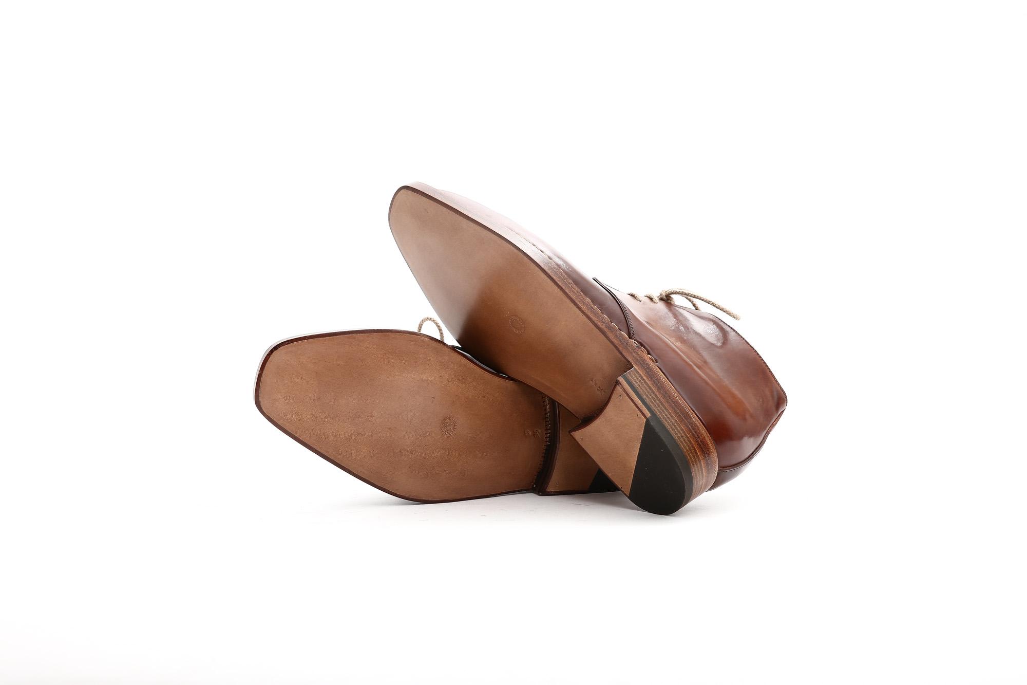 【ENZO BONAFE  / エンツォボナフェ】 ART.3722 Chukka boots チャッカブーツ Horween Shell Cordovan Leather ホーウィン社 シェルコードバンレザー 【ノルベジェーゼ製法】 チャッカブーツ コードバンブーツ 【No.4】  made in italy (イタリア製) 2017 秋冬新作  愛知 名古屋 ZODIAC ゾディアック エンツォボナフェ コードバン チャッカ enzobonafe コードヴァン