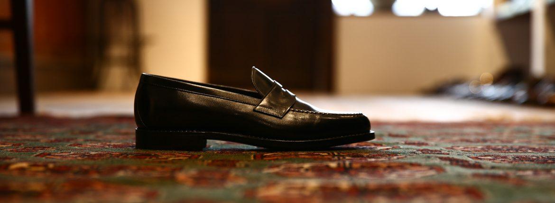 ENZO BONAFE (エンツォボナフェ) 【ART.3713】 Coin Loafer (コイン ローファー) DU PUY デュプイ ドレスシューズ ローファー NERO (ブラック) made in italy (イタリア製)のイメージ