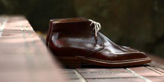 ENZO BONAFE (エンツォボナフェ) 【ART.3722】 Chukka boots チャッカブーツ Horween Shell Cordovan Leather ホーウィン社 シェルコードバンレザー ノルベジェーゼ製法 チャッカブーツ コードバンブーツ 【No.4】 made in italy (イタリア製) 2017 秋冬新作 愛知 名古屋 ZODIAC ゾディアック エンツォボナフェ コードバン チャッカ enzobonafe コードヴァン