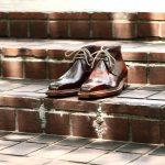ENZO BONAFE (エンツォボナフェ) ART.3722 Chukka boots チャッカブーツ Horween Shell Cordovan Leather ホーウィン社 シェルコードバンレザー 【ノルベジェーゼ製法】 チャッカブーツ コードバンブーツ 【No.4】  made in italy (イタリア製)のイメージ