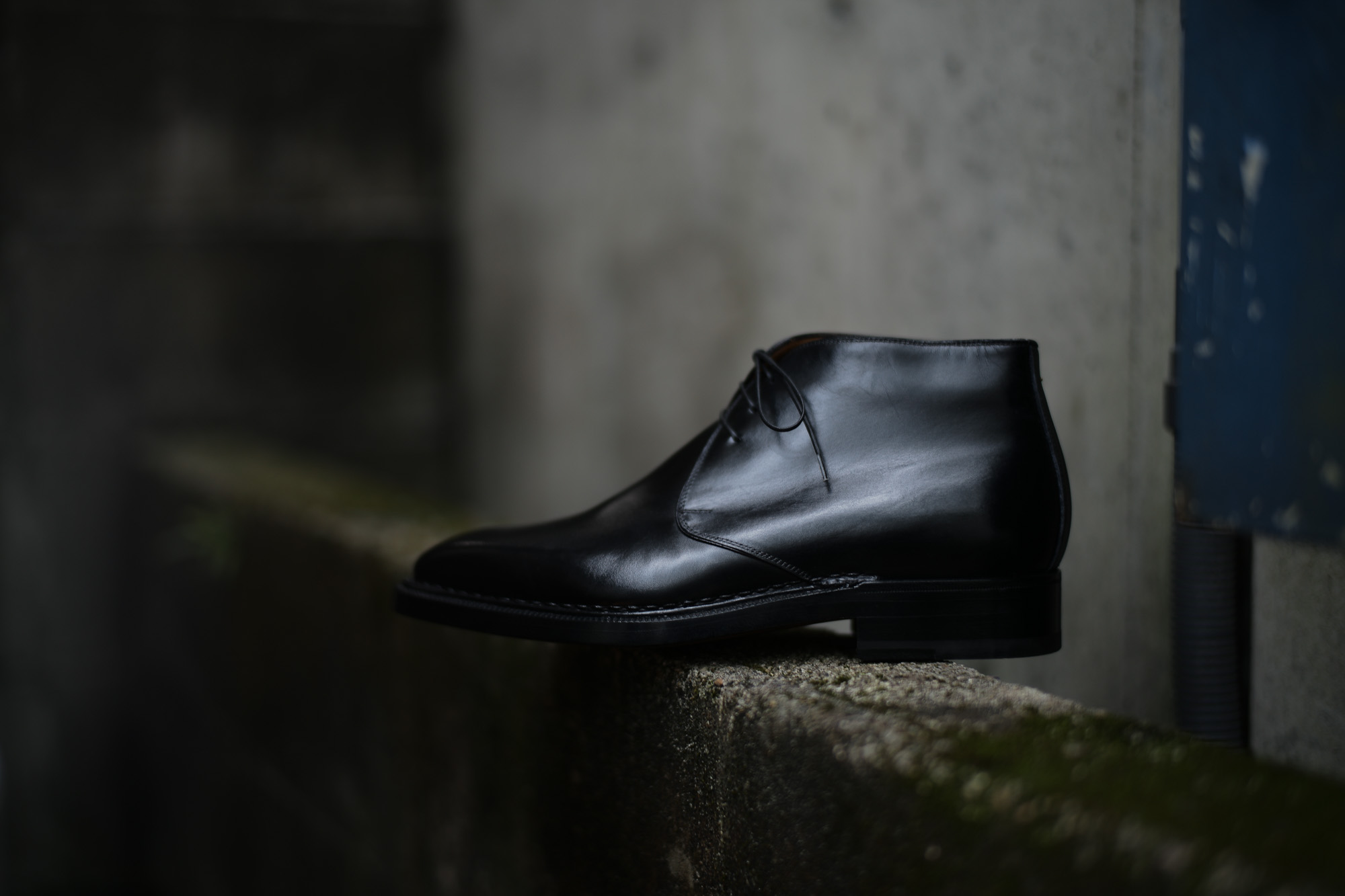 ENZO BONAFE (エンツォボナフェ) ART.3722 Chukka boots チャッカブーツ Horween Shell Cordovan Leather ホーウィン社 シェルコードバンレザー チャッカブーツ コードバンブーツ No.4  made in italy (イタリア製) 2017 秋冬 愛知 名古屋 Alto e Diritto アルト エ デリット エンツォボナフェ コードバン チャッカ
