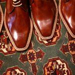 ENZO BONAFE (エンツォボナフェ) ART.3722 Chukka boots チャッカブーツ Horween Shell Cordovan Leather ホーウィン社 シェルコードバンレザー 【ノルベジェーゼ製法】 チャッカブーツ コードバンブーツ No.4  made in italy (イタリア製) 2017 秋冬新作のイメージ
