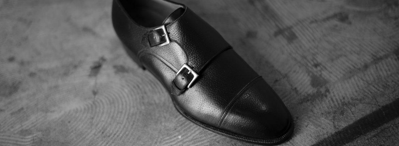 ENZO BONAFE(エンツォボナフェ) 【ART.EB-27】Double Monk Strap Shoes Horween Shell Cordovan leather ホーウィンシェルコードバン ダブルモンクストラップシューズ BOURBON(バーボン) made in italy(イタリア製) 2018 春夏のイメージ