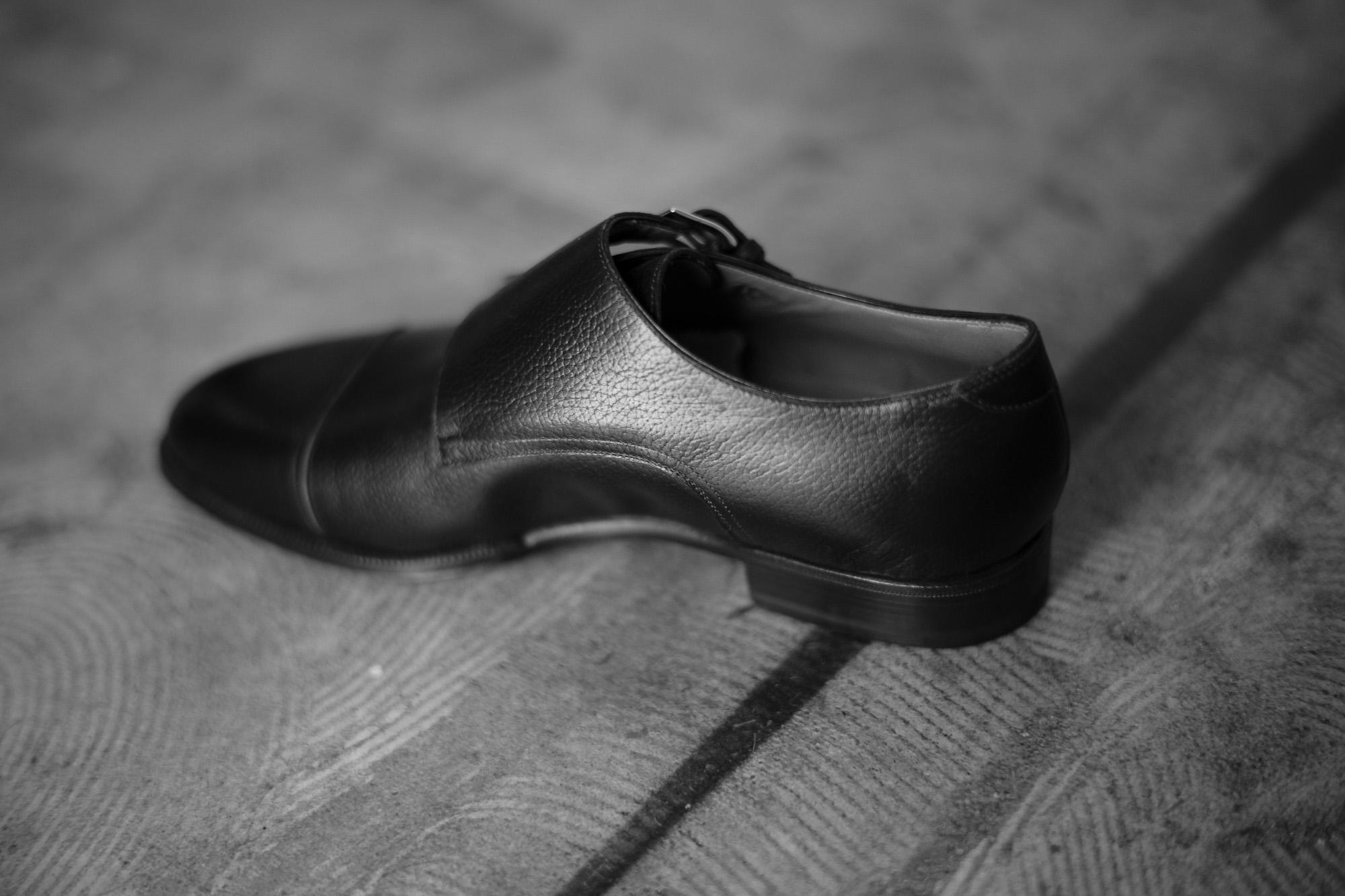 ENZO BONAFE(エンツォボナフェ) 【ART.EB-27】Double Monk Strap Shoes Horween Shell Cordovan leather ホーウィンシェルコードバン ダブルモンクストラップシューズ BOURBON(バーボン) made in italy(イタリア製) 2018 春夏 enzobonafe エンツォボナフェ doublemonk ダブルモンク レアカラー コードヴァン バーボン bourbon 愛知 名古屋 Alto e Diritto アルト エ デリット