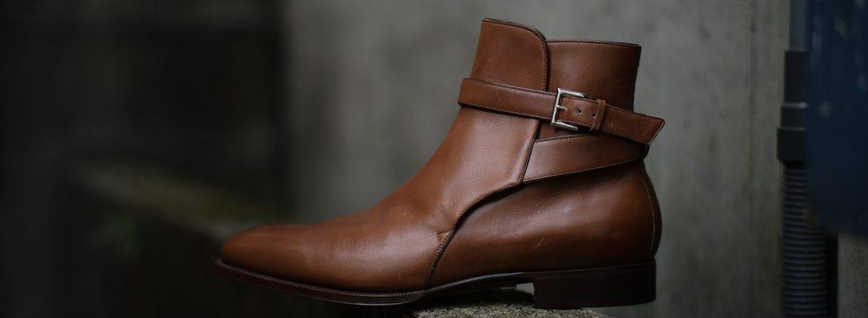ENZO BONAFE(エンツォボナフェ) 【EB-13】 Jodhpur Boots ジョッパーブーツ Bonaudo Museum Calf Leather ボナウド社ミュージアムカーフレザー ノルベジェーゼ製法 レザーブーツ NEW GOLD(ニューゴールド) made in italy(イタリア製) 2018 春夏のイメージ
