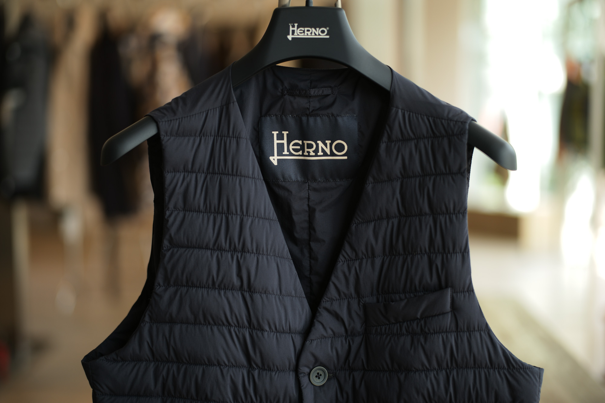 HERNO / ヘルノ (2018 春夏 展示会)  herno ヘルノ 愛知 名古屋 ZODIAC ゾディアック ラミナー シェル コート ジャケット トレンチコート ダウンベスト  PC0039U GA0069U GA008UL GI028UL IM0127U