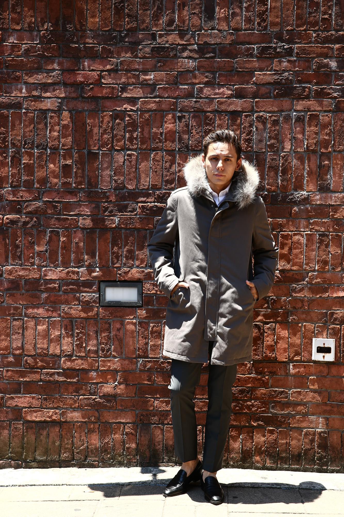 【HERNO / ヘルノ】 PI0404U SUB-ZERO M51 Mods coat (サブゼロ M51 モッズコート) ファー付き ダウン モッズコート GRAY (グレー・8600) 2017 秋冬 愛知 名古屋 herno ヘルノ ダウンコート 42,44,46,48,50,52,54