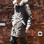 【HERNO / ヘルノ】 PI0404U SUB-ZERO M51 Mods coat (サブゼロ M51 モッズコート) ファー付き ダウン モッズコート GRAY (グレー・8600) 2017 秋冬のイメージ