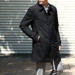 【HERNO / ヘルノ】 PI077UL LAMINAR Belted coat (ラミナー ベルテッドコート) GORE-TEX (ゴアテックス) 完全防水 ステンカラー シングル ベルテッドコート BLACK (ブラック・9300) 2017 秋冬のイメージ