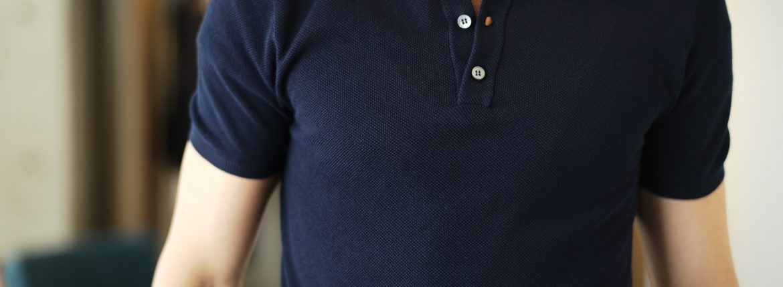 ZANONE / ザノーネ (2018 春夏 展示会 スタイルコレクション) アイスコットン ポロシャツ カーディガン ニットポロシャツ 愛知 名古屋 取扱い ZODIAC ゾディアック zanone