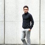 【ZANONE / ザノーネ】 Turtle Neck Sweater タートルネックセーター VIRGIN WOOL 100% ヴァージンウール100% ハイゲージウールニットセーター CHARCOAL (チャコール・Z0006) made in italy (イタリア製) 2017 秋冬新作のイメージ