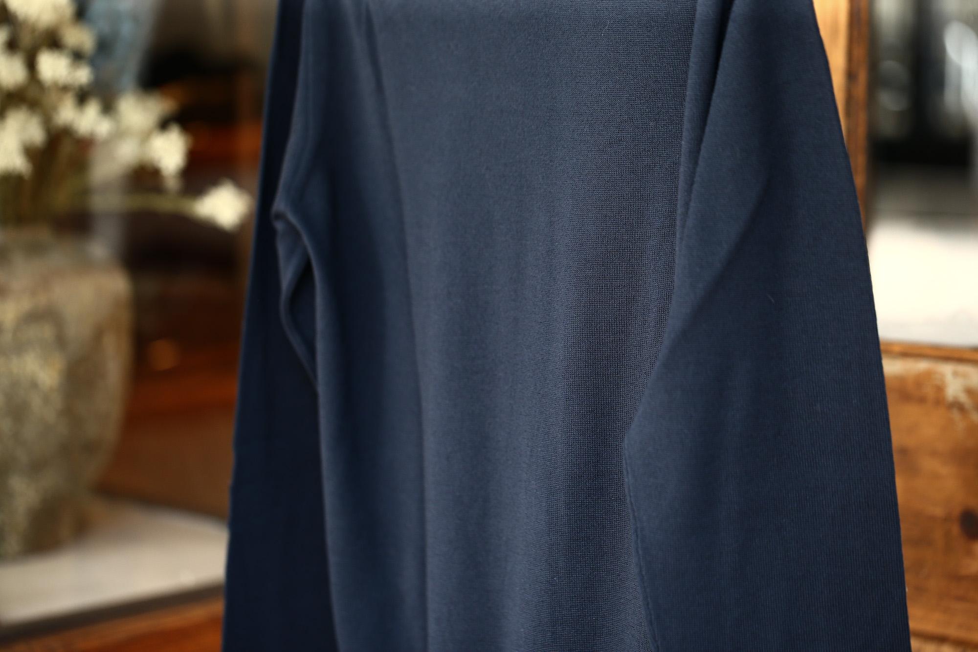 ZANONE (ザノーネ) Turtle Neck Sweater タートルネックセーター VIRGIN WOOL 100% ヴァージンウール100% ハイゲージウールニットセーター NAVY (ネイビー・Z1375) made in italy (イタリア製) 2017 秋冬新作 zanone ザノーネ タートルネック 愛知 名古屋 Alto e Diritto アルト エ デリット タートル