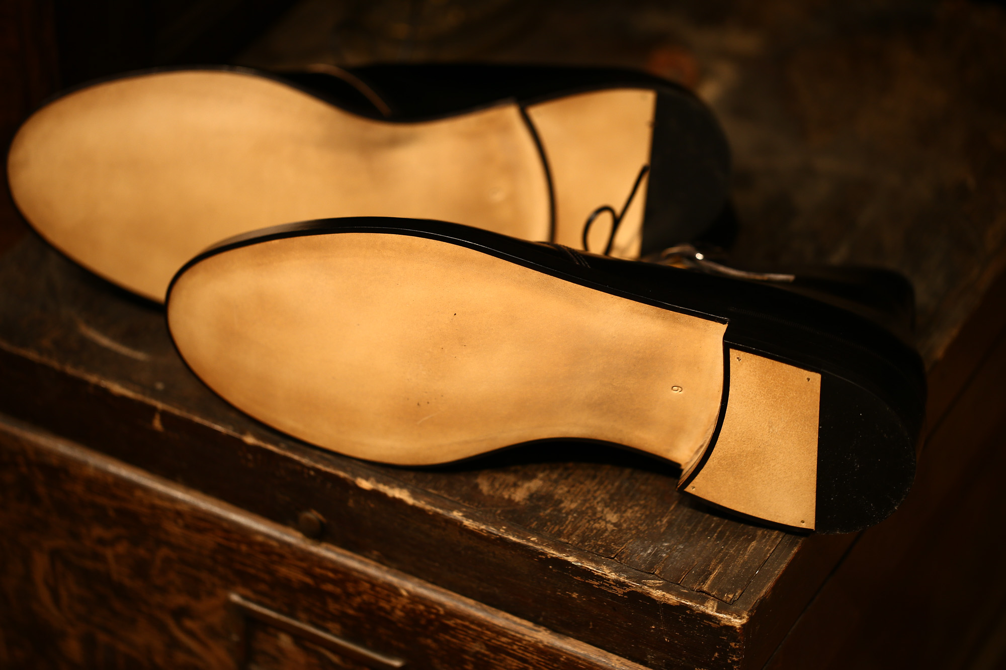 Cuervo (クエルボ)  【2017 AW NEW MODEL】【Derringer / デリンジャー】 CORDOVAN Goodyear Welt Process Double Leather Sole  Chukkaboots BLACK MADE IN JAPAN 【Special Model 1st sample】 cuervoクエルボ チャッカブーツ 愛知 名古屋 Alto e Diritto アルト エ デリット 5.5,6,6.5,7,7.5,8,8.5,9,9.5