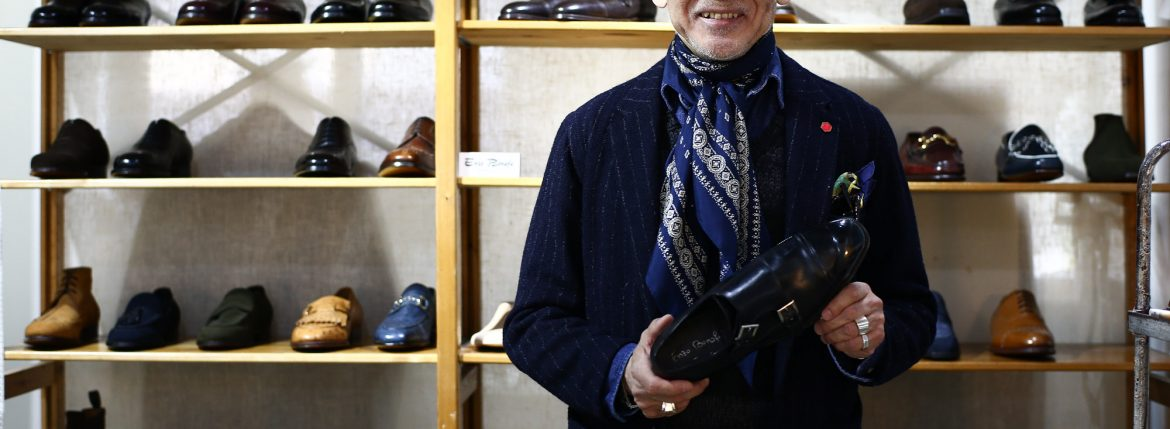 ENZO BONAFE / エンツォボナフェ 2017 Autumn/Winter Special Model 【ENZO BONAFE×HIROSHI TSUBOUCHI×Alto e Diritto //// DOUBLE MONK STRAP SHOES //// Bonaudo Museum Calf Leather.Pewter ////  NORVEGESE】のイメージ