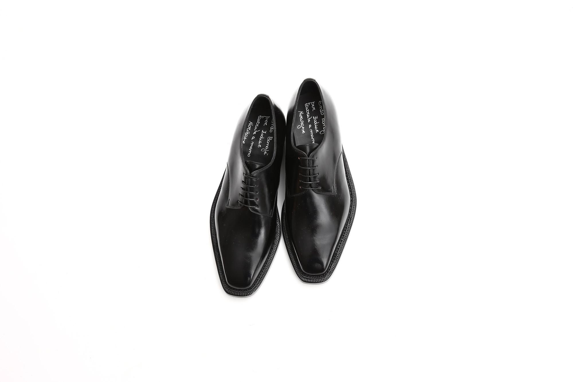 【ENZO BONAFE / エンツォボナフェ】 【3720】Plane Toe Dress Shoes プレーントゥー Horween Shell Cordovan leather ホーウィンシェル コードバンレザー コードヴァンドレスシューズ NERO(ブラック) made in italy (イタリア製) 2017 秋冬新作 enzobonafe エンツォボナフェ 愛知 名古屋 Alto e Diritto アルト エ デリット 5.5,6,6.5,7,7.5,8,8.5,9,9.5