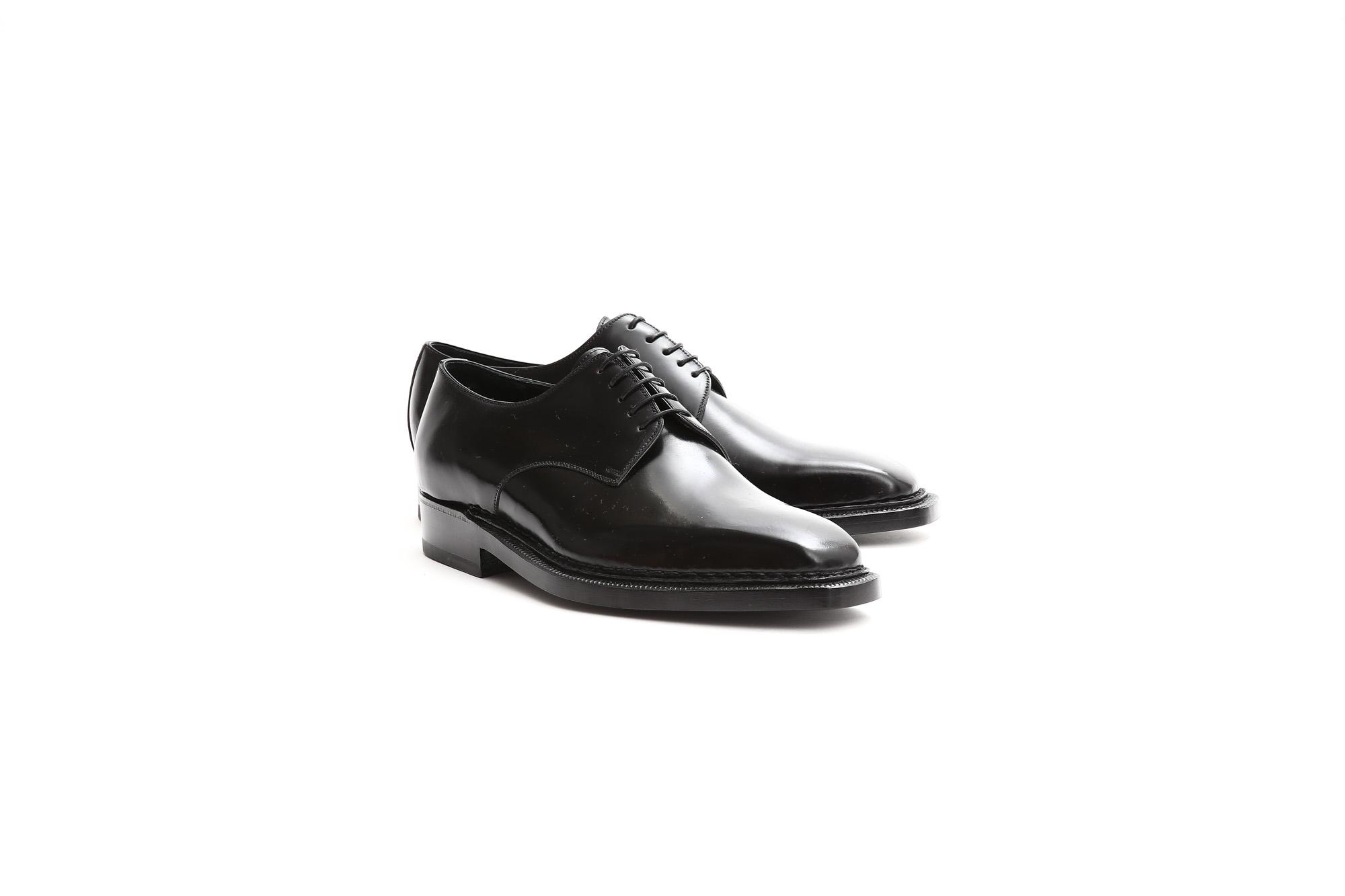 【ENZO BONAFE / エンツォボナフェ】 【3720】Plane Toe Dress Shoes プレーントゥー Horween Shell Cordovan leather ホーウィンシェル コードバンレザー コードヴァンドレスシューズ NERO(ブラック) made in italy (イタリア製) 2017 秋冬新作 enzobonafe エンツォボナフェ 愛知 名古屋 ZODIAC ゾディアック 5.5,6,6.5,7,7.5,8,8.5,9,9.5
