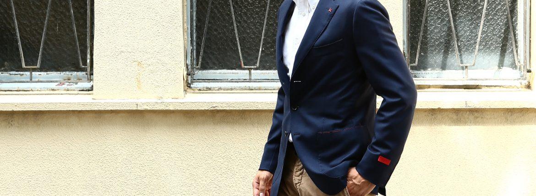 【ISAIA / イザイア】 SAILOR セイラー FABRIC Wool 100%,LINING Cupro 100% ウール ホップサック アンコン 3Bジャケット 【NAVY / ネイビー・800】 Made in italy (イタリア製) コーディネート 愛知 名古屋 ZODIAC ゾディアック ISAIA ジャケット コットン テーラード イザイア 42,44,46,48,50,52,54,56