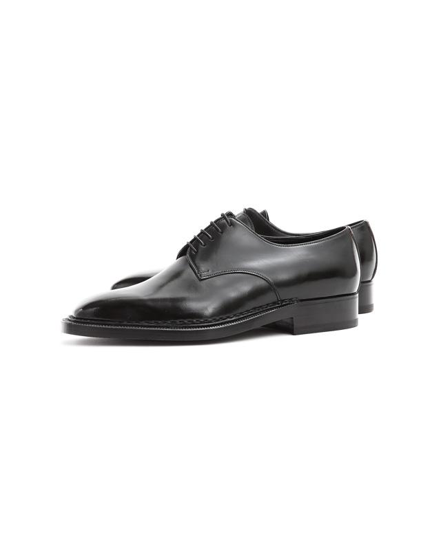 【ENZO BONAFE / エンツォボナフェ】 【3720】Plane Toe Dress Shoes プレーントゥー Horween Shell Cordovan leather ホーウィンシェル コードバンレザー ドレスシューズ NERO(ブラック) made in italy (イタリア製) 2017 秋冬新作