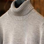 ZANONE (ザノーネ) Turtle Neck Sweater タートルネックセーター VIRGIN WOOL 100% ミドルゲージ ウールニット セーター GREGE (グレージュ・Z2873)  made in italy (イタリア製) 2017 秋冬新作のイメージ