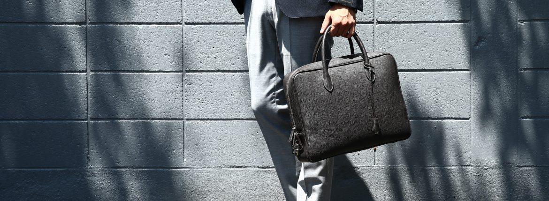 ALFREDO BERETTA (アルフレッドベレッタ) Art.201-SP Briefcase レザー ビジネスバッグ ブリーフケース MARRONE (ブラウン) made in italy (イタリア製) 【ご予約 納期6ヶ月】のイメージ