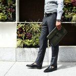 【ALFREDO BERETTA / アルフレッドベレッタ】 Art.108 Small Clutch Bag レザー ビジネスバッグ クラッチバッグ VERDE MILITARE (オリーブ) made in italy (イタリア製) 【ご予約 納期6ヶ月】のイメージ