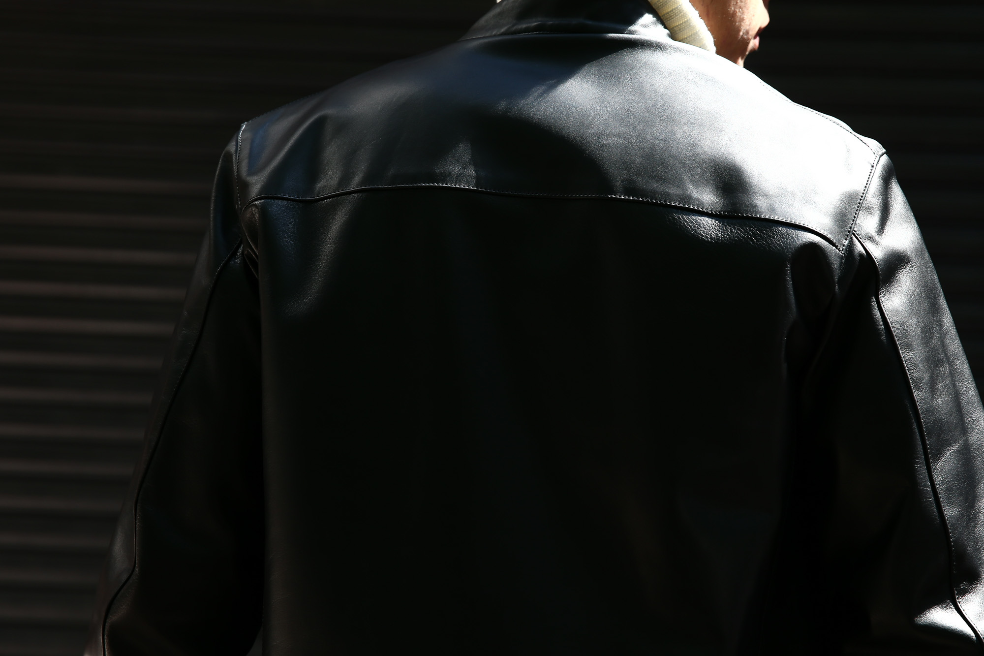 CINQUANTA(チンクアンタ) 6621/1 STAND COLLAR RIDERS CAVALLO (スタンド カラー ジャケット) 【HORSE LEATHER / ホースレザー】 シングル ライダース ジャケット BLACK (ブラック・999) Made in italy (イタリア製) 2017 秋冬新作 コーディネートスタイル 。cinquanta チンクアンタ レザージャケット 愛知 名古屋 ZODIAC ゾディアック