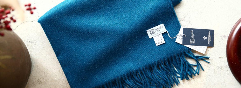 【Johnstons / ジョンストンズ】 WA56 STOLE Cashmere 100% カシミア 大判 ストール PEACOCK (ピーコック・SC7140) Made in Scotland (スコットランド製) 2017秋冬新作のイメージ