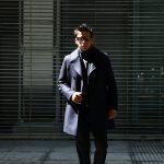 Sealup(シーラップ) 【GENOVA //// ジェノバ】 50002 7591 01 メルトンウール サーモアライニング ロングPコート Pコート ロング ピーコート NAVY (ネイビー・01) MADE IN ITALY(イタリア製) 2017 秋冬新作のイメージ