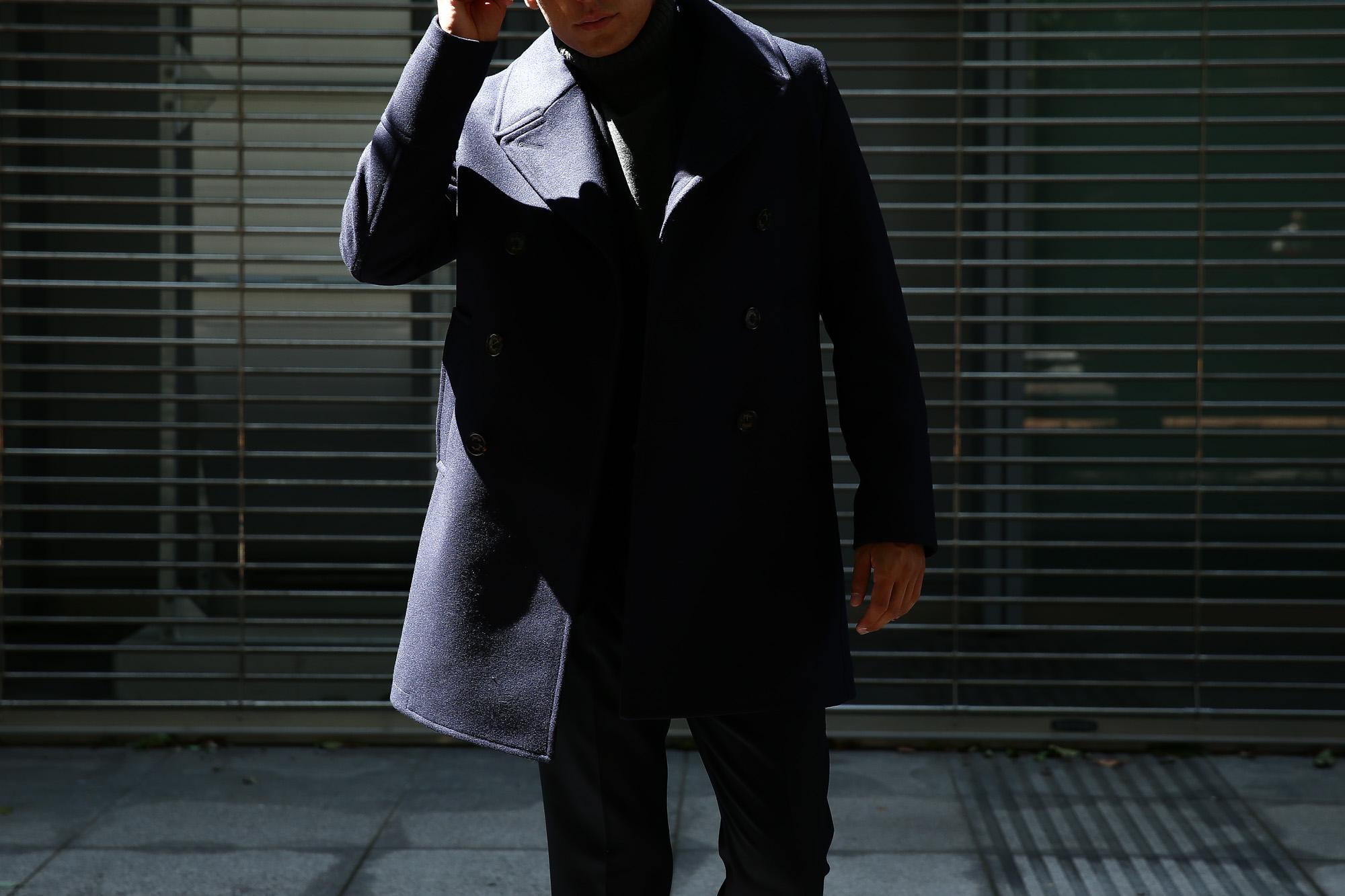 Sealup(シーラップ) 【GENOVA //// ジェノバ】 50002 7591 01 メルトンウール サーモアライニング ロングPコート Pコート ロング ピーコート NAVY (ネイビー・01) MADE IN ITALY(イタリア製) 2017 秋冬新作 sealup シーラップ 愛知 名古屋 ZODIAC ゾディアック セレクトショップ シーラップPコート コート 44,46,48,50,52
