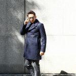 Sealup(シーラップ) 【GENOVA // ジェノバ】 50002 7591 01 メルトンウール サーモアライニング ロングPコート Pコート ロング ピーコート NAVY (ネイビー・01) MADE IN ITALY(イタリア製) 2017 秋冬新作のイメージ