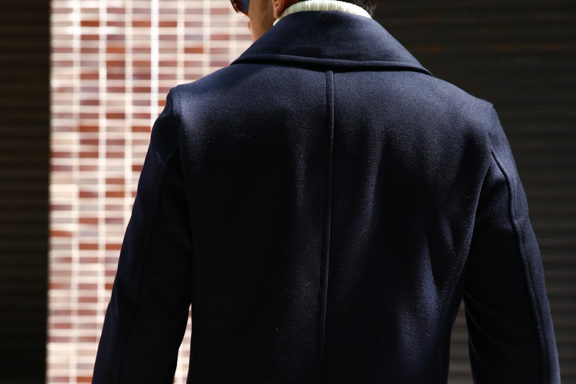 Sealup(シーラップ) 【GENOVA /// ジェノバ】 50002 7591 01 メルトンウール サーモアライニング ロングPコート Pコート ロング ピーコート NAVY (ネイビー・01) MADE IN ITALY(イタリア製) 2017 秋冬新作 sealup シーラップ 愛知 名古屋 ZODIAC ゾディアック セレクトショップ シーラップPコート コート 44,46,48,50,52
