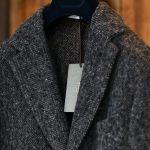 BOGLIOLI MILANO (ボリオリ ミラノ) CHESTER COURT (チェスターコート) ヘリンボーン ウール ツイード コート CHARCOAL (チャコール・09) Made in italy (イタリア製) 2017 秋冬新作のイメージ