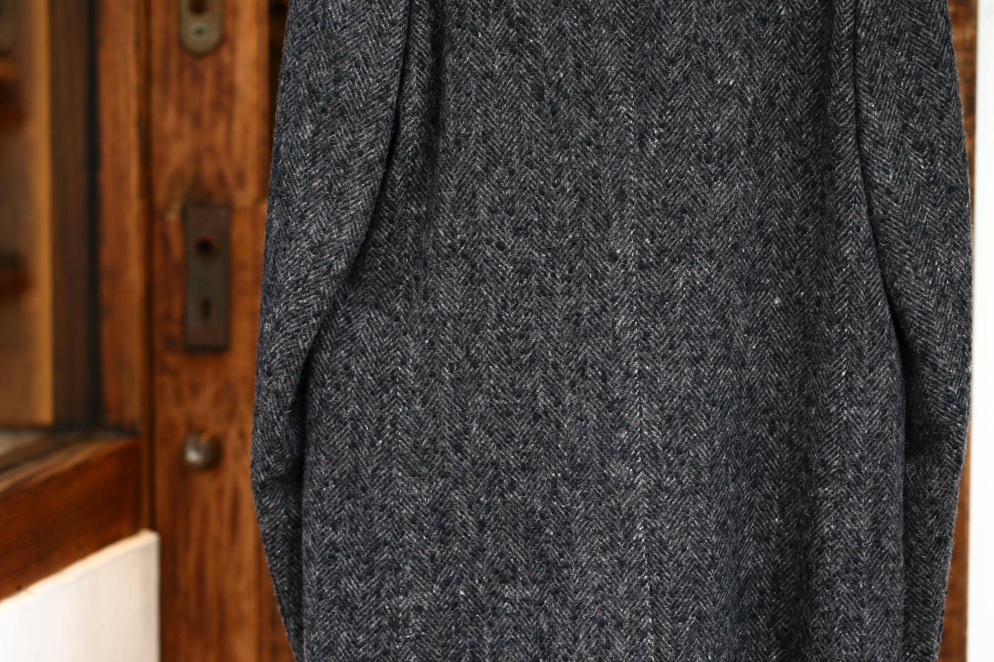 BOGLIOLI MILANO (ボリオリ ミラノ) CHESTER COURT (チェスターコート) ヘリンボーン ウール ツイード コート CHARCOAL (チャコール・09) Made in italy (イタリア製) 2017 秋冬新作 boglioli ボリオリ chestercourt 愛知 名古屋 ZODIAC ゾディアック