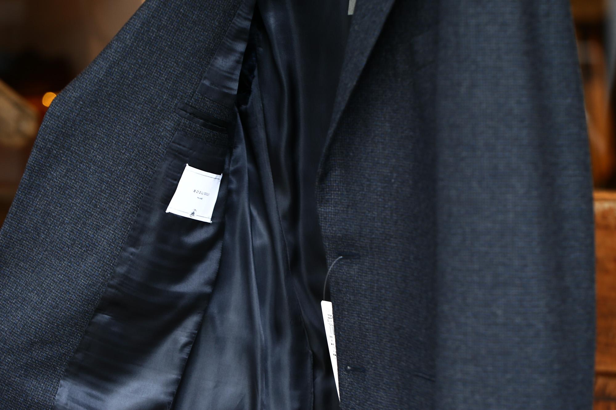 BOGLIOLI MILANO (ボリオリ ミラノ) SFORZA (スフォルツァ) サキソニーウール生地 メランジ 2B スーツ CHARCOAL (チャコール・79) Made in italy (イタリア製) 2017 秋冬新作 boglioli ボリオリ スーツ SUIT 愛知 名古屋 Alto e Diritto アルト エ デリット