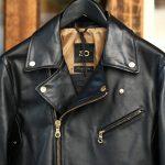 CINQUANTA (チンクアンタ) 6633 W RIDERS CAVALLO (ダブルライダース ジャケット) HORSE LEATHER ホースレザー ライダース ジャケット BLACK (ブラック・999) Made in italy (イタリア製) 2017 秋冬新作のイメージ