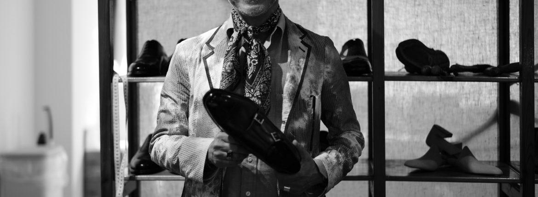ENZO BONAFE / エンツォボナフェ 2017 Autumn/Winter Special Model 【ENZO BONAFE×HIROSHI TSUBOUCHI×Alto e Diritto //// DOUBLE MONK STRAP SHOES //// Bonaudo Museum Calf Leather.Pewter ////  NORVEGESE】のイメージ
