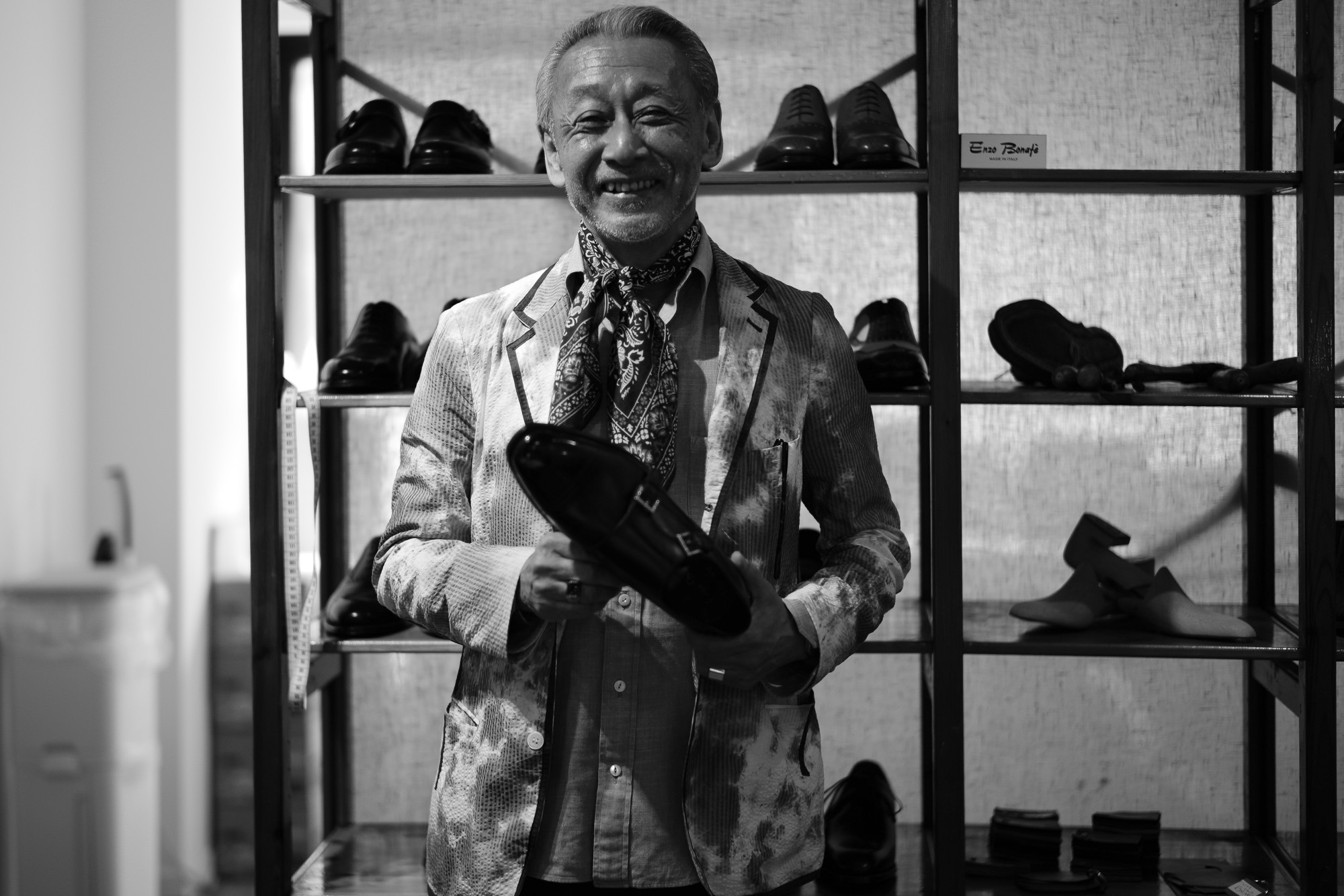 ENZO BONAFE / エンツォボナフェ 2017 Autumn/Winter Special Model 【ENZO BONAFE×HIROSHI TSUBOUCHI×ZODIAC //// DOUBLE MONK STRAP SHOES //// Bonaudo Museum Calf Leather.Pewper ////  NORVEGESE】 enzobonafe ヒロシツボウチ コラボモデル ダブルモンク ノルベ ミュージアムカーフ 愛知 名古屋 ZODIAC ゾディアック