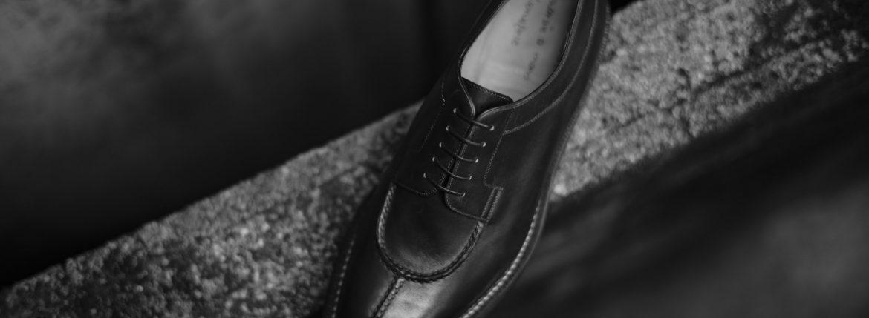 ENZO BONAFE(エンツォボナフェ) 【BERING // ベーリング】 Bonaudo Museum Calf Leather(ボナウド社ミュージアムカーフレザー) ノルベジェーゼ製法 Uチップシューズ レザーシューズ PEUM(バーガンディー) made in italy(イタリア製) 2017 秋冬のイメージ